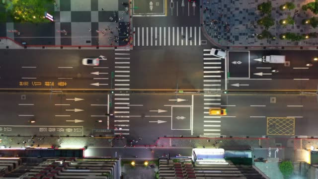 traffic in taipei, just after sunset - taiwan stock videos & royalty-free footage