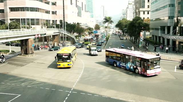 台湾の交通 - taipei点の映像素材/bロール