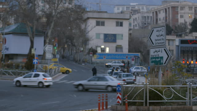 traffic in teheran - iran stock videos and b-roll footage