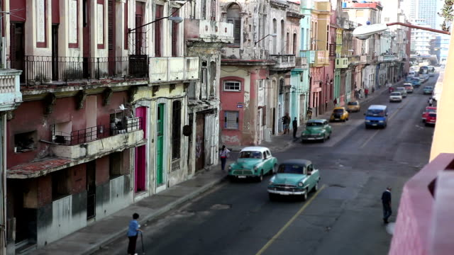 traffic in the habana - havana stock videos & royalty-free footage