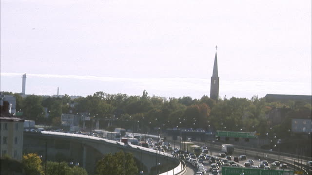 traffic in the street stockholm sweden. - swedish culture stock videos and b-roll footage