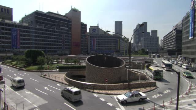 Traffic interchange in Shinjuku