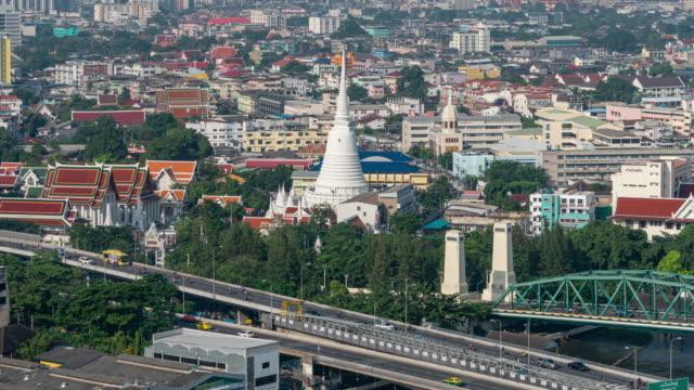 vídeos y material grabado en eventos de stock de atasco de tráfico en bangkok - tanga