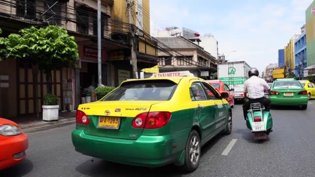 バンコクの交通渋滞 - 民間人点の映像素材/bロール
