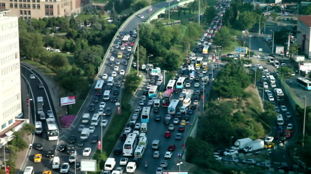 Ingorgo a Istanbul
