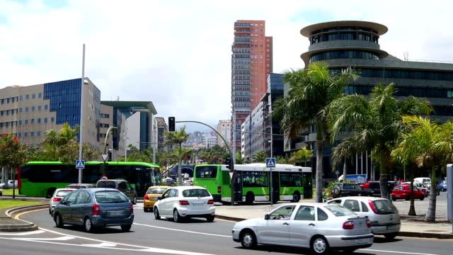 Traffic Jam in Santa Cruz  / Tenerife