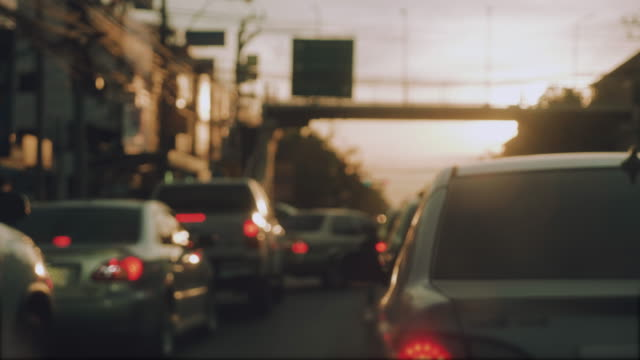 vidéos et rushes de embouteillage dans la ville - trafic jam