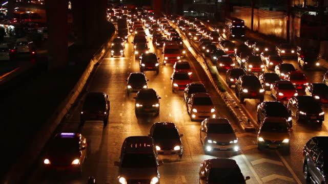 vidéos et rushes de embouteillage - trafic jam