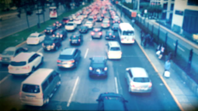 traffic jam - lima peru stock videos and b-roll footage
