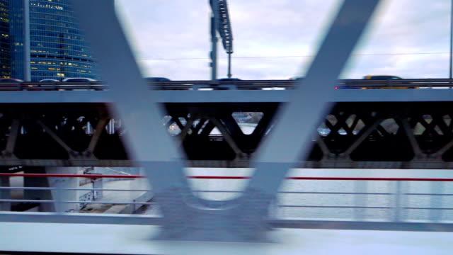 交通渋滞 - 都市鉄道からの眺め