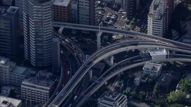AERIAL, Traffic jams of mid Tokyo