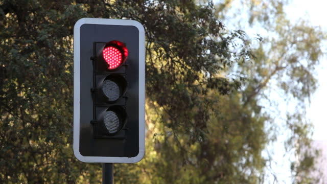 traffic light - city boulevard - green light stoplight stock videos and b-roll footage