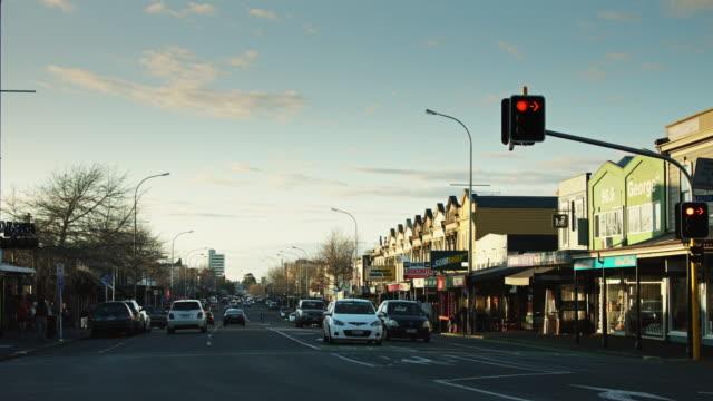 Traffic Light in Ponsonby, Auckland