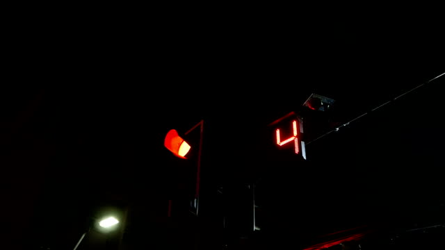 traffic light red and number countdown to start - green light stoplight stock videos and b-roll footage