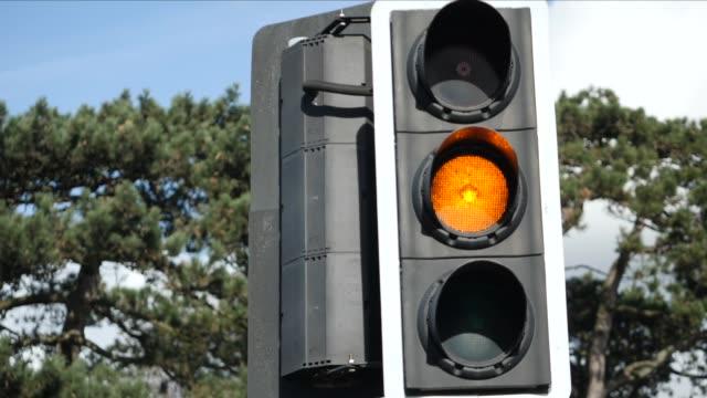 traffic light - traffic light stock videos & royalty-free footage