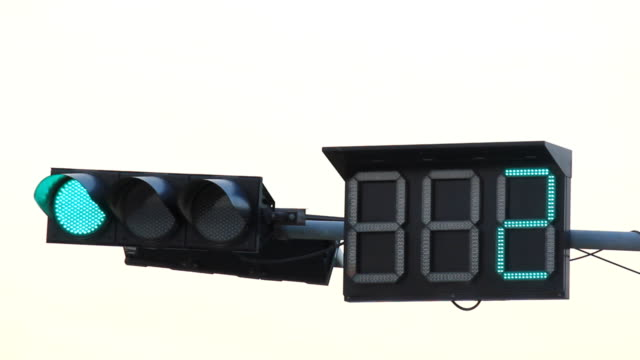 traffic light - green light stoplight stock videos and b-roll footage