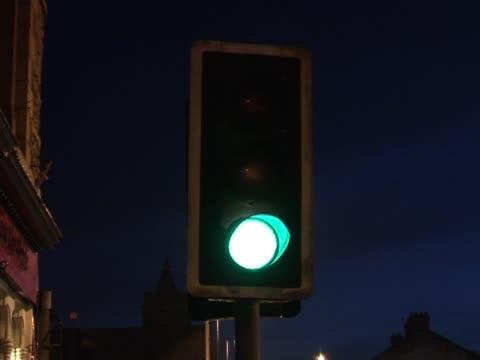uk traffic lights 1 - pedestrian crossing stock videos and b-roll footage
