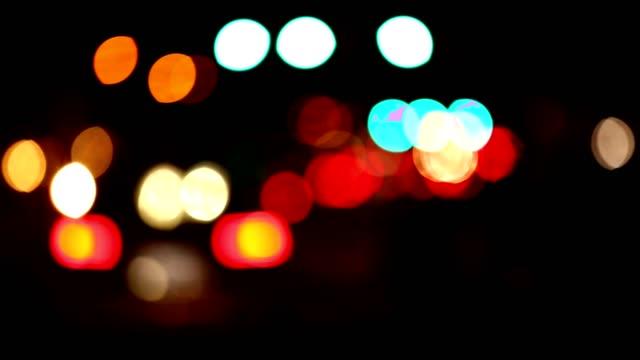 traffic lights on main street in fredericksburg texas. - tail light stock videos & royalty-free footage