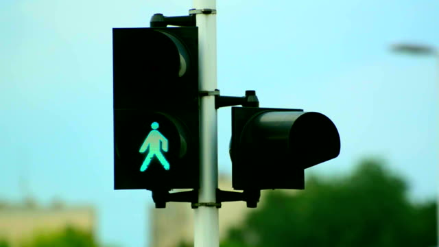 traffic management - traffic light stock videos & royalty-free footage