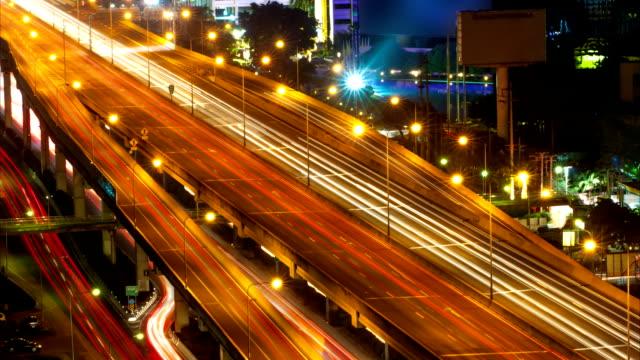 交通の移動には、高速道路をバンコク,タイ - 長さ点の映像素材/bロール