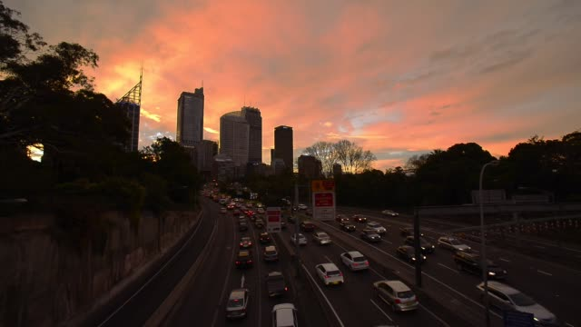 Traffic of Sydney, NSW, Australia