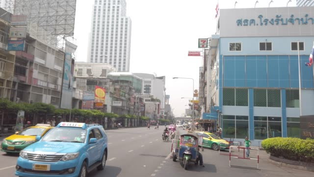 traffic of urban city - southeast asia stock videos & royalty-free footage