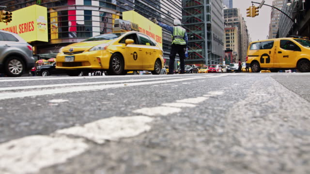 Traffic on 8th Avenue, NYC