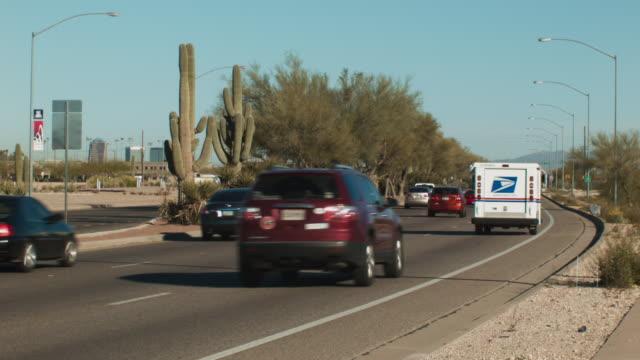 Traffic on a Desert Highway