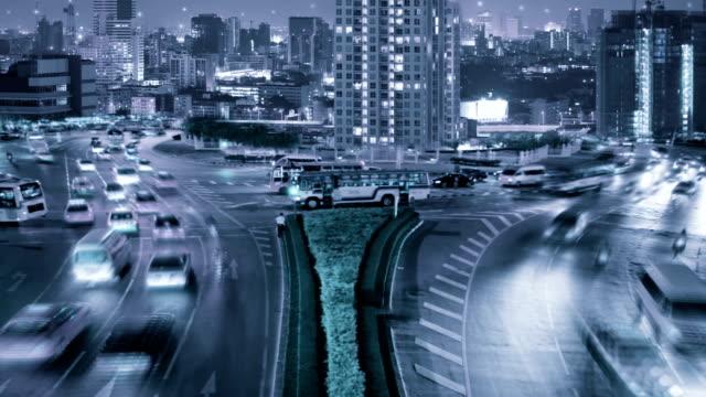 Traffico su strada un Bangkok