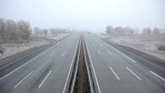 Traffic on autobahn A1