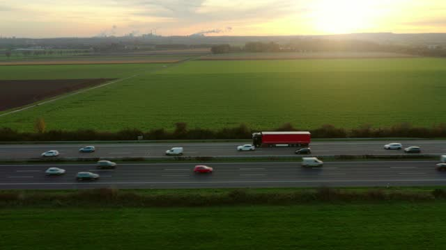 traffic on autobahn - natural phenomenon stock videos & royalty-free footage