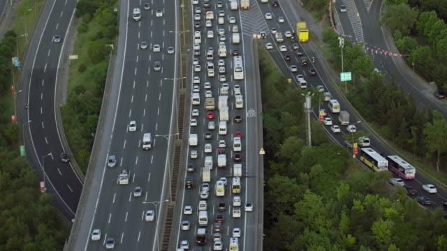 Traffic On Beltway In Istanbul Turkey