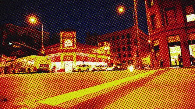 ms cgi la traffic on downtown street, los angeles, california, usa - digital enhancement stock videos & royalty-free footage