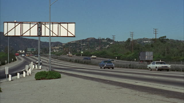 ws traffic on freeway - 1968 stock videos and b-roll footage