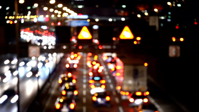 traffic on highway, time lapse - motorway stock videos & royalty-free footage