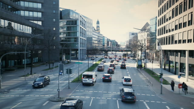 traffic on highway - saxony stock videos & royalty-free footage