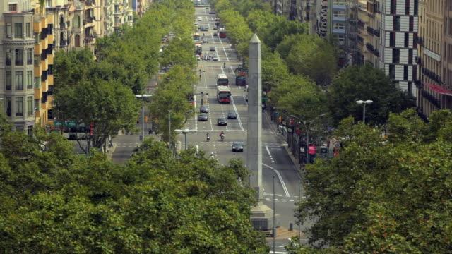 HA WS Traffic on Passeig de Gracia / Barcelona, Catalonia, Spain
