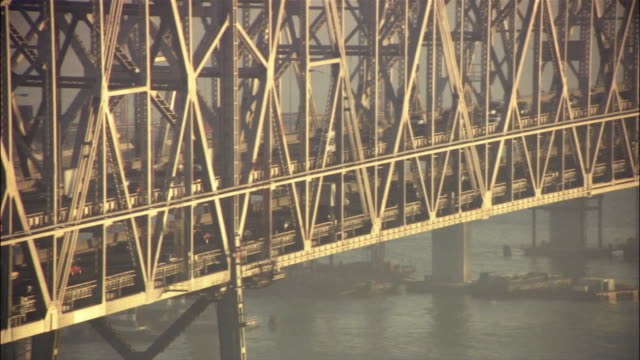 Traffic on San Francisco-Oakland Bay Bridge / San Francisco