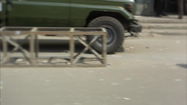 POV, MS, Traffic on street, Bangladesh