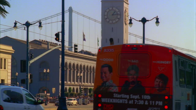 MS, Traffic on The Embarcadero, San Francisco, California, USA