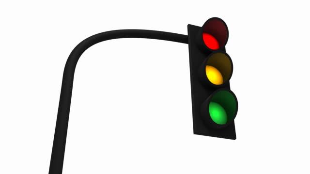 vidéos et rushes de feu feu de signalisation - feu de signalisation pour véhicules