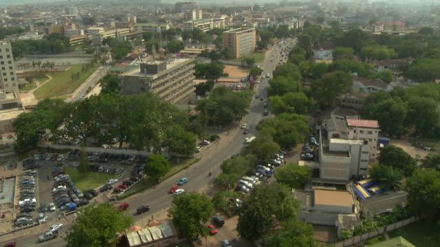 ghana traffic time lapse - ghana stock videos & royalty-free footage