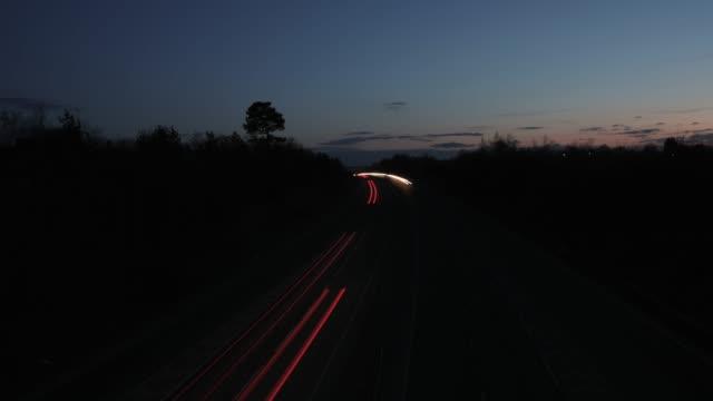 Traffic time lapse