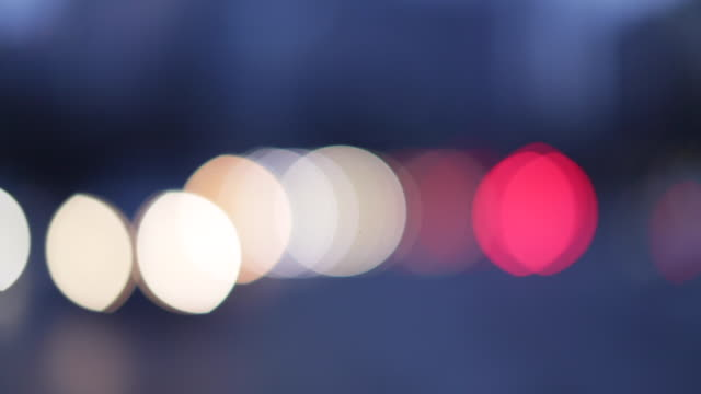 traffic timelapse speed with dynamic blur - street light stock videos & royalty-free footage