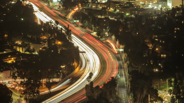 LA traffic timelapse