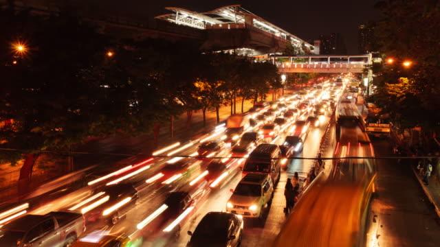 vidéos et rushes de trafic de - lampe frontale