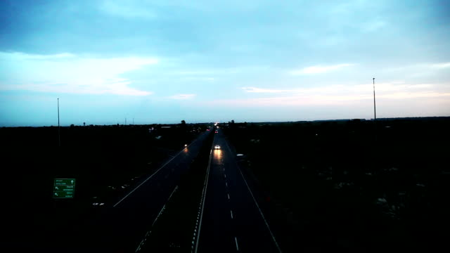 traffic - trucks in a row stock videos & royalty-free footage