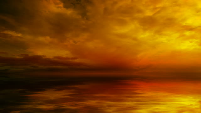 Dramatischen Sonnenuntergang-Himmel