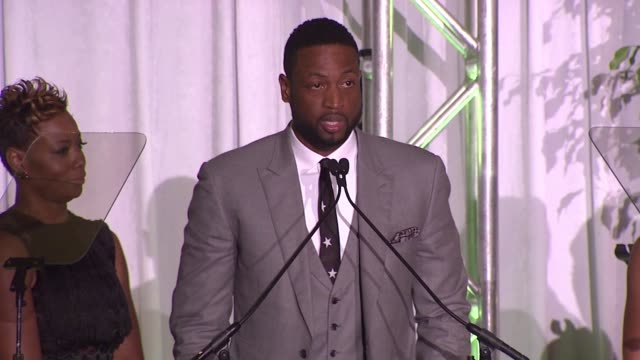 tragil wade on being survivors of the conditions that foundation beneficiaries are going through, dwyane wade on growing up in the south side of... - tamron hall stock videos & royalty-free footage