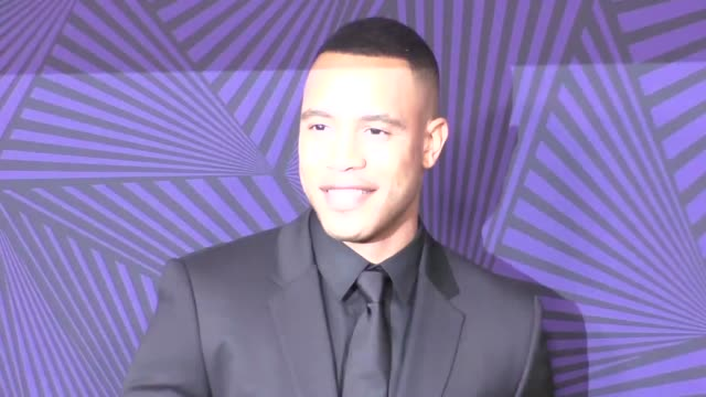 trai byers at the bet 2017 american black film festival honors awards at the beverly hilton hotel on february 17, 2017 in beverly hills, california. - the beverly hilton hotel stock videos & royalty-free footage
